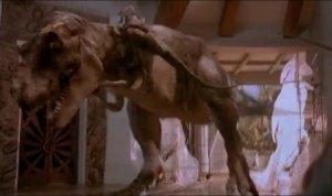 t-rex fight