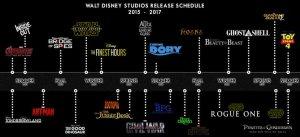 disney schedule
