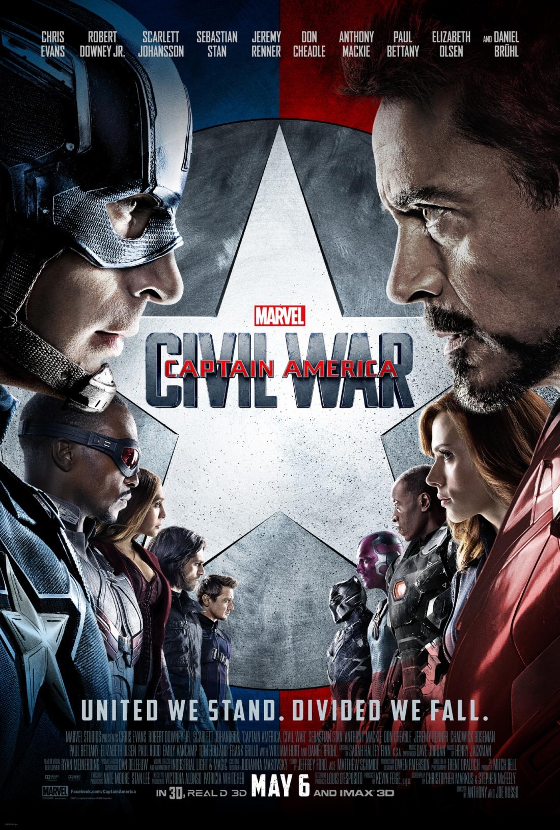 cap america civil war